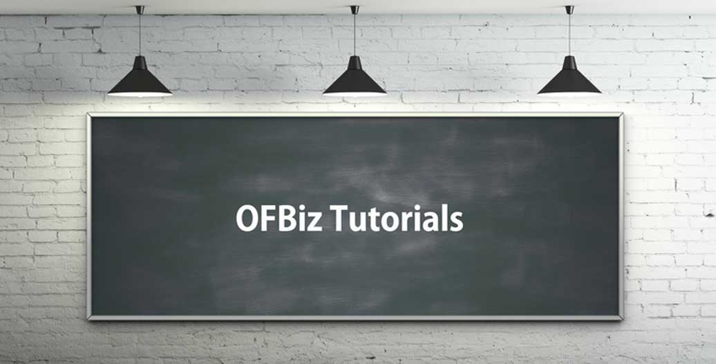 ofbiz tutorials