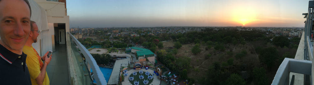 Indore, India Panorama