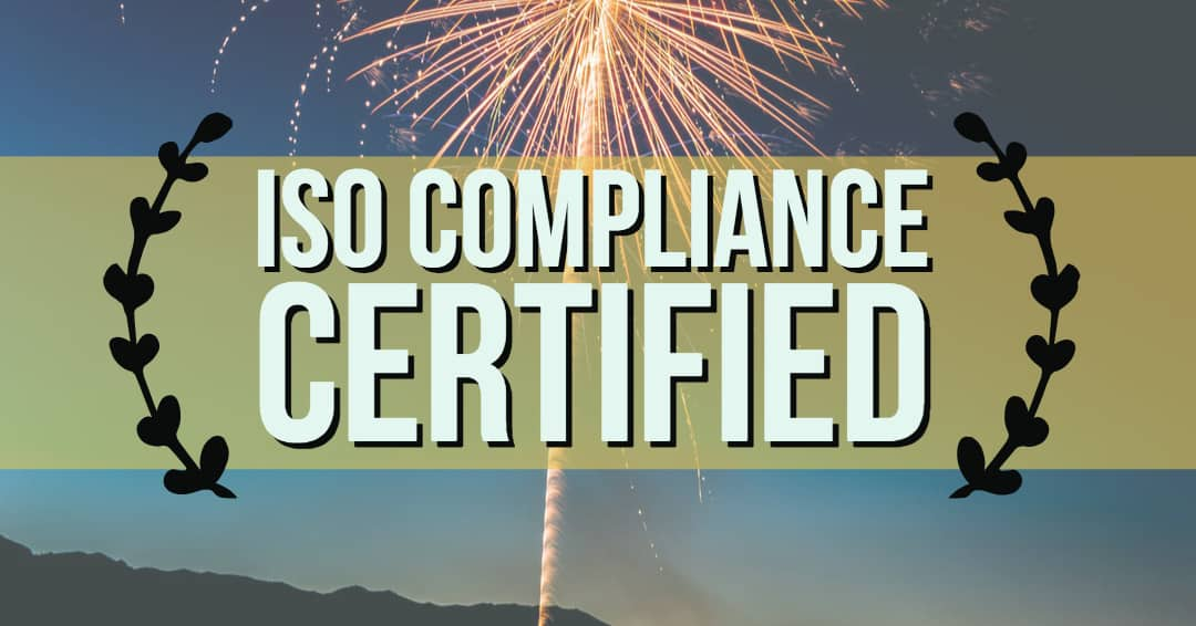 ISO Compliance Certified