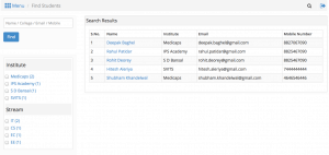 Candidate Search Solr