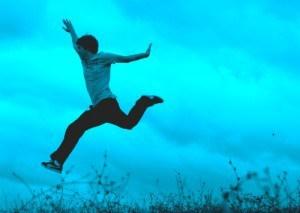 blue jump