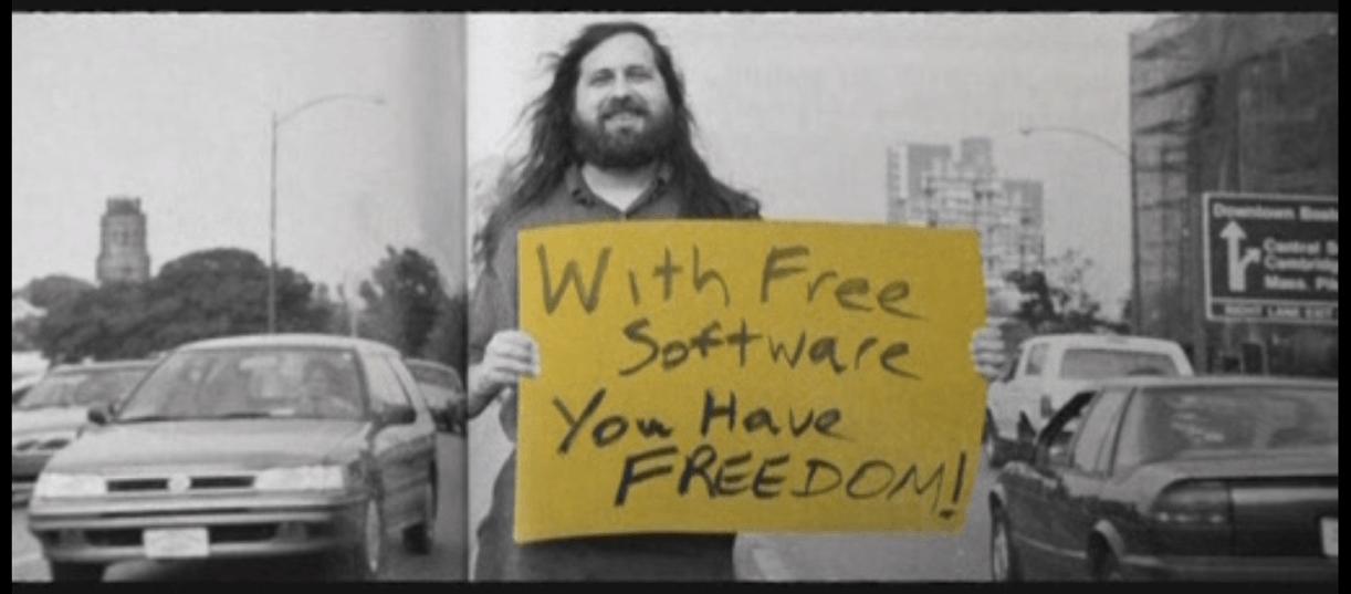Stallman Free ERP Software Apache OFBiz