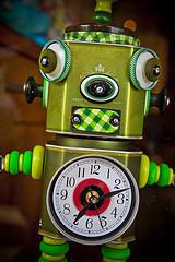 OFBiz Scheduling Bog Robot Clock 2