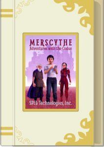 Mersythe Bookcover for accessible learning platform