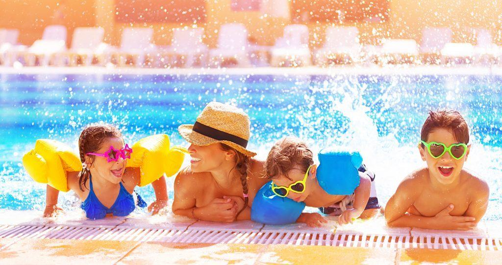 Online shopping can help busy families save time this summer.