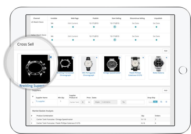 Cross Sell Screenshot