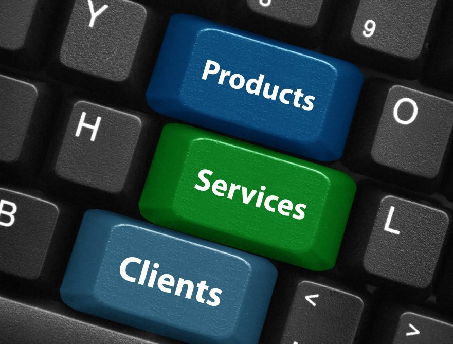 PRODUCTS - SERVICES - CLIENTS Keys