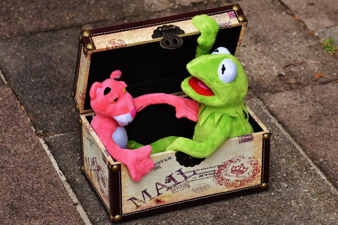 All Kermit wanted was for his order of one Pink Panther to be fulfilled