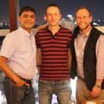 HotWax Systems' executive board is comprised of Anil Patel (COO), Jacopo Cappellato (CTO) and Mike Bates (CEO)