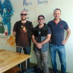 HotWax Systems' Mike Bates (CEO), Scott Gray (Software Developer) and Jacopo Cappellato (CTO) visit the Indore Office