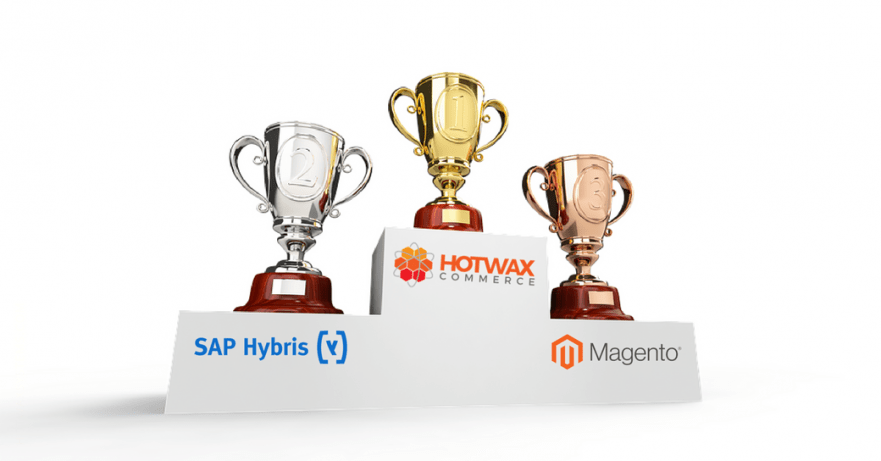 HotWax Systems does the ultimate Commerce Platform Market Leaders Comparison: Magento v. HotWax Commerce v. SAP Hybris