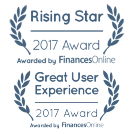 "HotWax Commerce, the Unified Commerce Solution, earned the ""Rising Star"" and ""Great User Experience"" 2017 Awards for the ERP Software Product category from Finances Online"